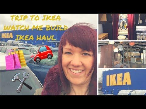COME TO IKEA | BUILD IKEA FURNITURE WITH ME | IKEA HAUL