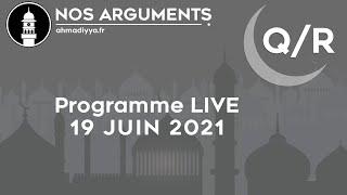 Nos Arguments LIVE - 19 Juin 2021 à 19h30