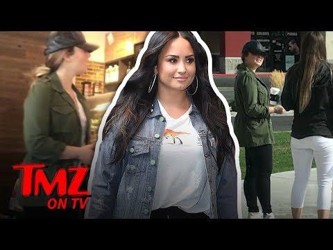 Demi Lovato Seen Out in Public During Rehab Break!!!  TMZ TV
