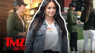Demi Lovato Seen Out in Public During Rehab Break!!! | TMZ TV