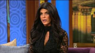 Teresa Giudice on Wendy Williams - 10/01/12
