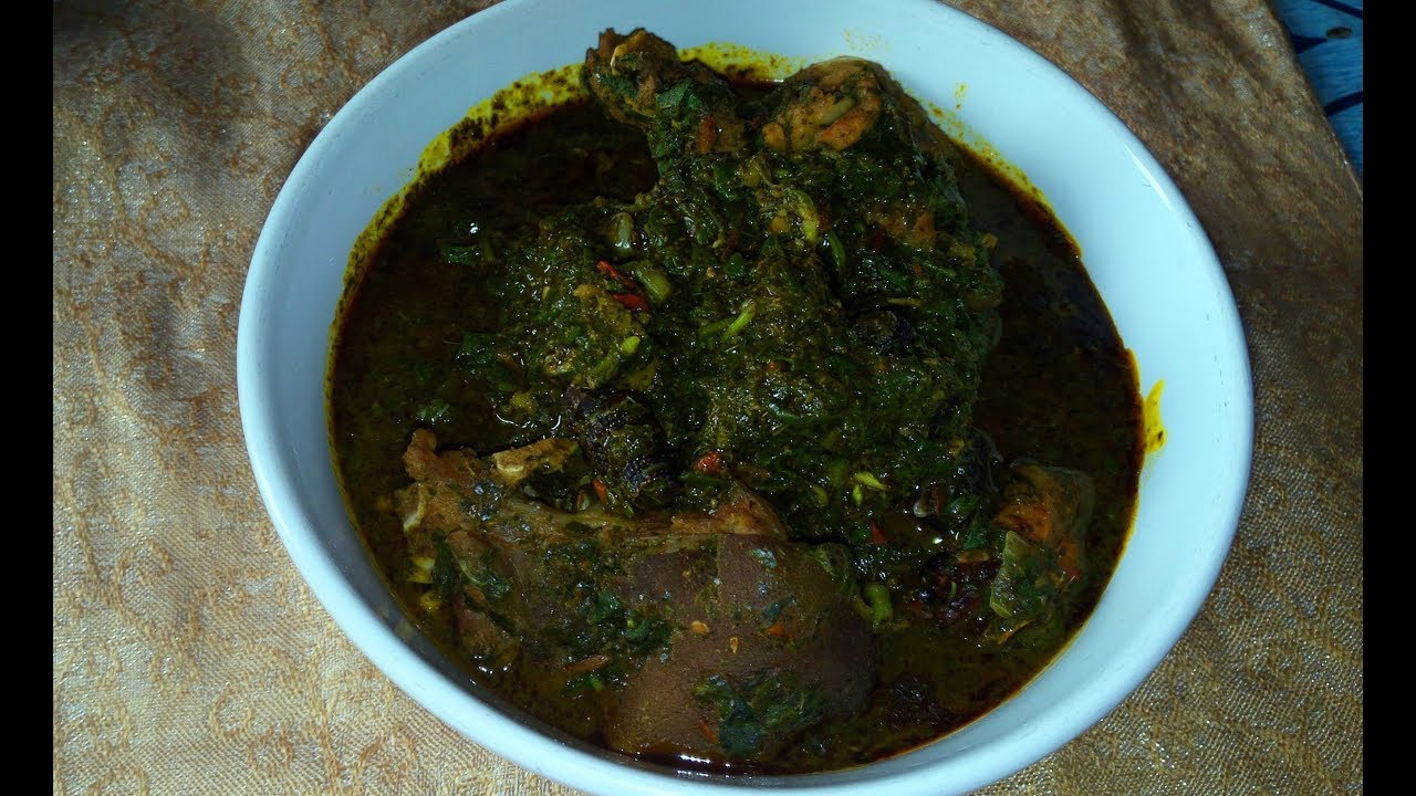 Afang Soup Recipe How To Make Delicious Afang Soup Youtube
