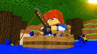 Minecraft Recess - FISHING TO SURVIVE !? (Minecraft Roleplay)