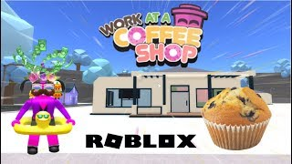 J'AI UN NOUVEAU TRAVAIL ! | Roblox Work at a Coffee Shop
