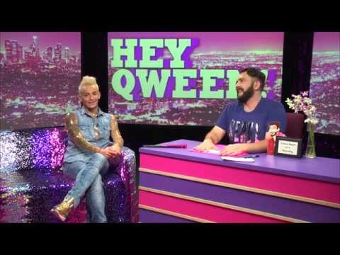Frankie Grande on Hey Qween with Jonny McGovern