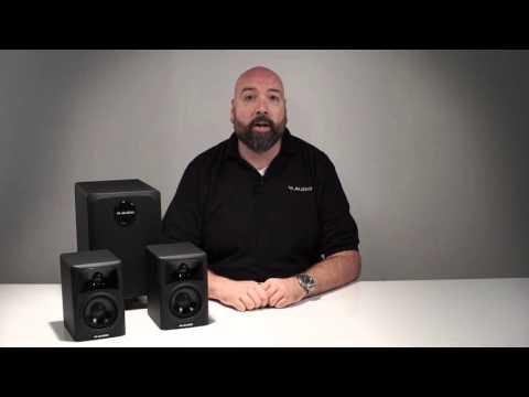 M-Audio ||  Overview on the AV32.1 system