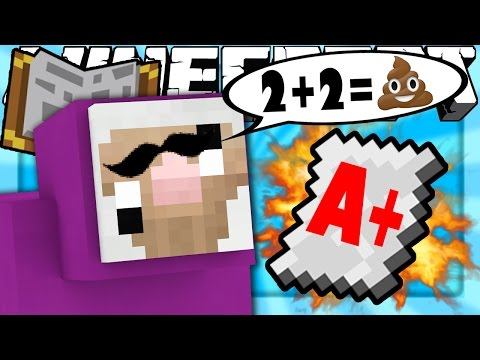 Thumbnail: Minecraft | Purple Shep Goes to School