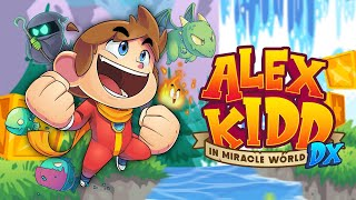 Alex Kidd in Miracle World DX Reveal Trailer
