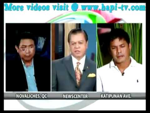 Raymart and Mon Tulfo Face Off on TV PATROL