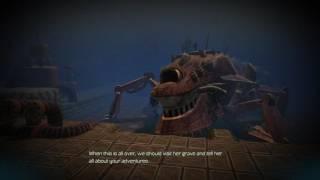 Oceanhorn Arcadian Ruins - Battle with Oceanhorn Pt1