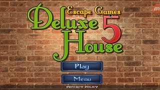 Escape Games - Deluxe House 5 Walkthrough