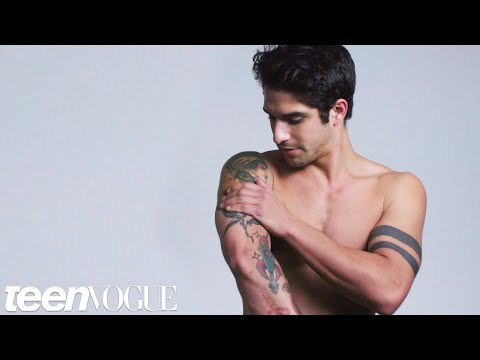 Teen Wolf's Tyler Posey Explains His Tattoos | Teen Vogue