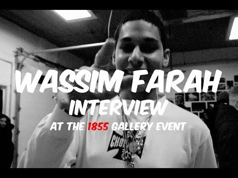 Wassim Farah Interview at Night Lovell 1855 Tour Gallery