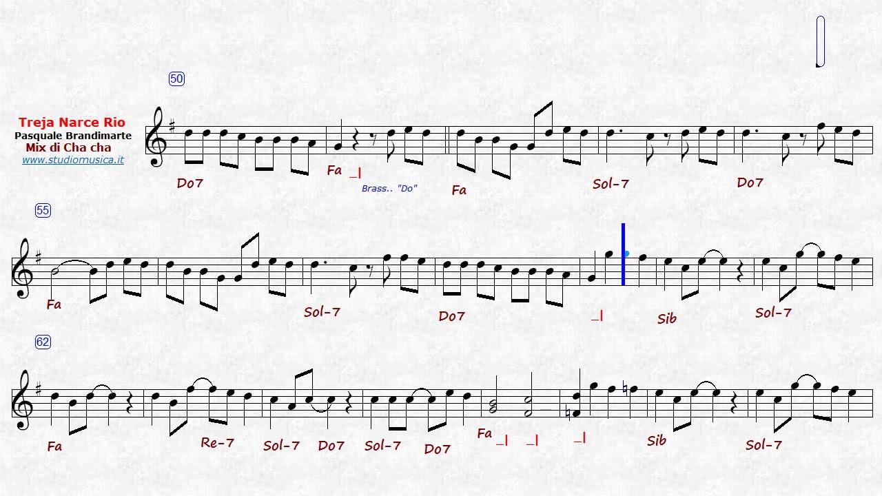 treja narce rio mix 3 chacha di pasquale brandimarte strum sib ascolto [ 1280 x 720 Pixel ]