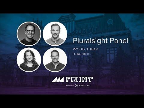 PluralSight panel at Front 2016 in Salt Lake City, Utah