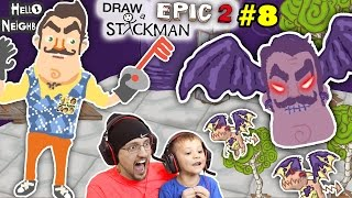 Draw A Stickman Epic - #1 - THE SEARCH FOR BARRY! w/Hypercore Ripper