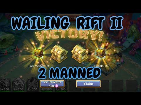 Wailing Rift Ll 2 Manned L Castle Clash
