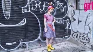 Grimes for Elle Girl