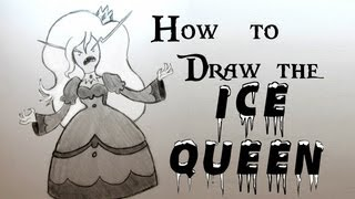 Ep. 96 How to draw the Ice Queen