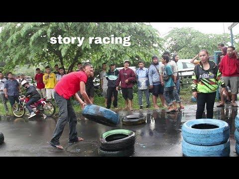 Mami Racing Marah KECEWA Sirkuit GDS ditutup, Jauh2 dari Semarang Balap Liar Vega 40jt Gandeng