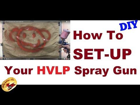 BASICS For USING A HVLP PAINT SPRAYER...for the DIYer