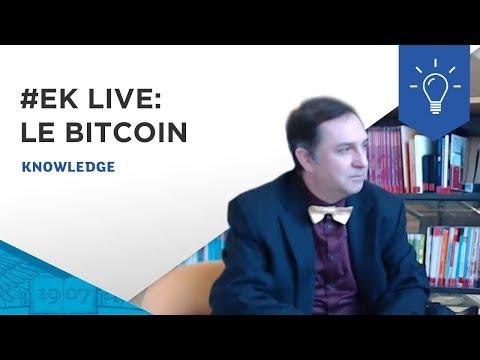 #EKLive - Le Bitcoin - Décryptage de François Longin, professeur à l'ESSEC