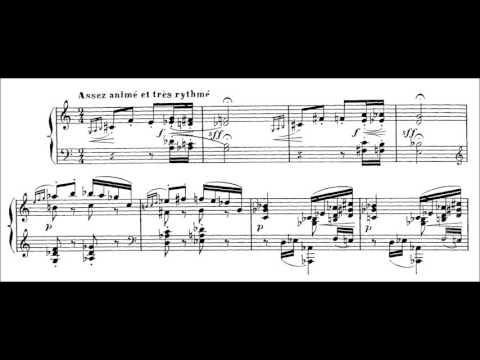 Claude Debussy - Morceaux de Concours (audio + sheet music)