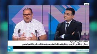 رسائل تهنئة بين الرئيس بوتفليقة وملك المغرب