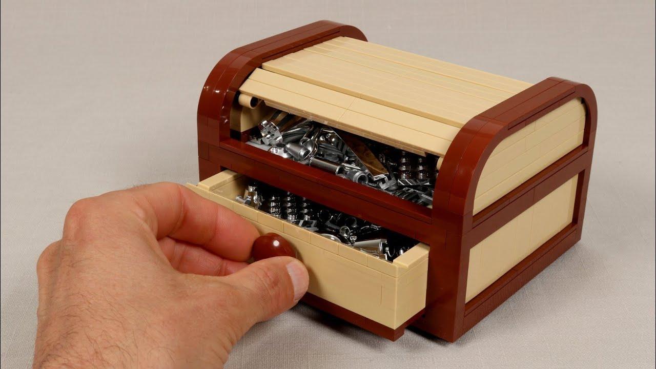 Making a LEGO Tambour Box