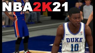 How to play with NCAA College Teams in NBA 2K21