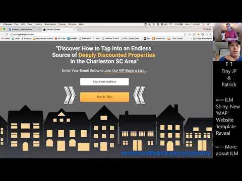 Real Estate Investor Lead Machine: New Website Templates