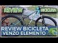 Review bicicleta Venzo Elemento de comunitario Emiliano desde Argentina