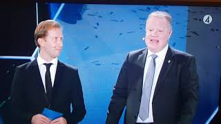 Diamantbollenvinnaren Nilla Fischer o guldbollenvinnaren Victor Nilsson Lindelöf