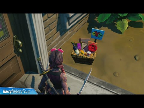 Place Welcome Gifts in Holly Hatchery All Locations - Fortnite