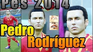 PES 2014 • Pedro Rodríguez New Face 2048HD Texture | Fc Barça Download • HD Thumbnail
