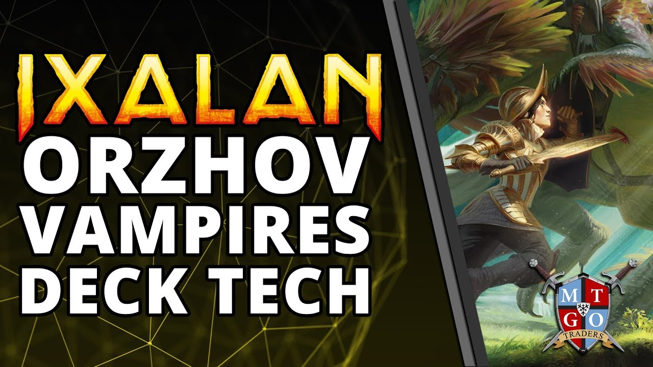 Orzhov Vampires Standard Deck Tech Mtg Youtube It turns on the vampire deck like no card has in a long time. youtube