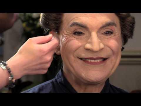 David Suchet transforms into Lady Bracknell