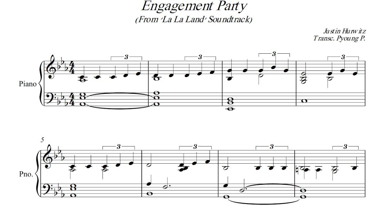 engagement party from 39 la la land 39 soundtrack piano. Black Bedroom Furniture Sets. Home Design Ideas