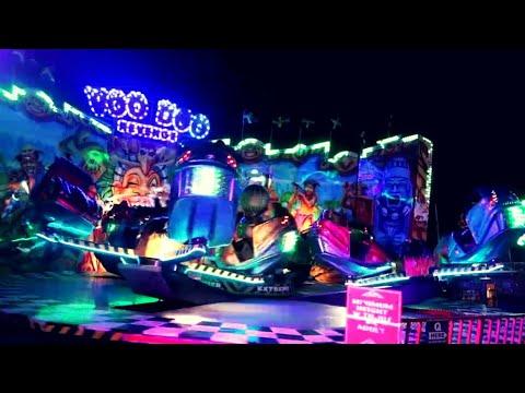 Crazy Rides At The Hartlepool Marina Fun Fair!