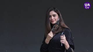Naagin Actress Neha Sharma Unique style cake cutting on her birthday celebration party