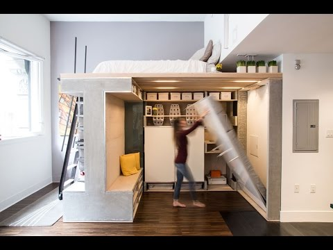 Beautiful Minimslist Loft Apartment Design Ideas