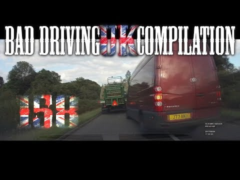 Bad Driving UK Compilation 158