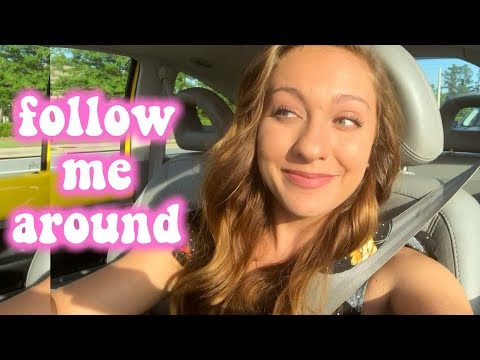 follow me around: shooting a tv show, doctor's office, online classes at UGA!