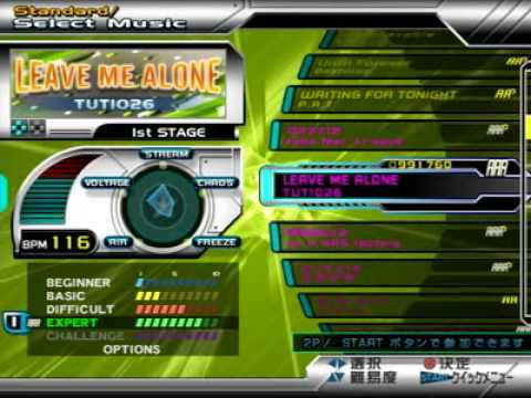 DDR SuperNOVA 2 (JP) - FULL Song list Line Record
