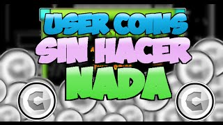 COMO CONSEGUIR USER COINS SIN HACER NADA , GEOMETRY DASH 2.0  [PARCHEADO] thumbnail