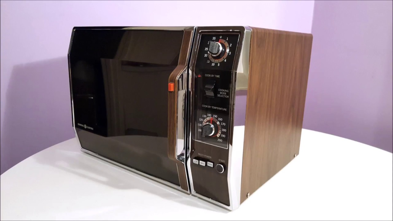 65 Pound Ge Microwave Oven From 1982 Youtube