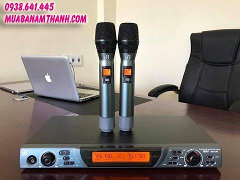 Micro Không Dây Karaoke cực Hay Model 2017 - DB Acoustic 530 Cảm Biến Tự Ngắt