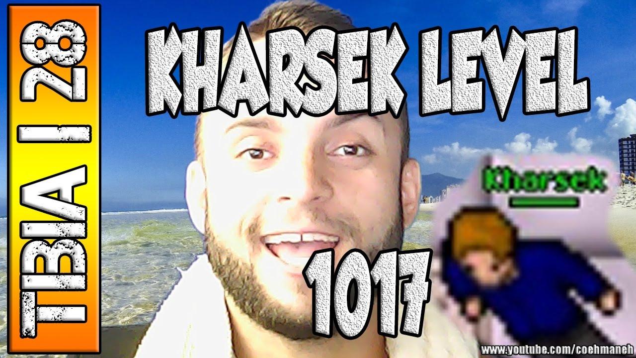 Tibia 28 Kharsek Level 1017 E A Porta 999 Youtube
