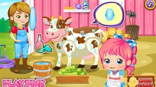 Baby Alice Farm Life Online Free Flash Game Videos GAMEPLAY