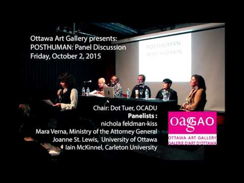 OAG presents : POSTHUMAN: Panel Discussion